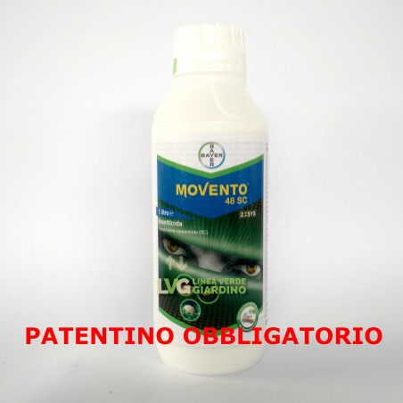 Bayer MOVENTO 48 SC Insetticida Sistematico Contro Psilla Afidi Cocciniglie 1 lt
