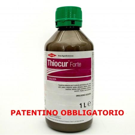 Dow THIOCUR FORTE Fungicida Antioidico a base di myclobutanil 1 Lt