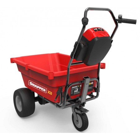 Battery-powered wheelbarrow 82 V ESXDUC82 Snapper with Batteries and Charge EXCLUDED